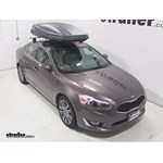 Thule Force XXL Rooftop Cargo Box Review - 2014 Kia Cadenza