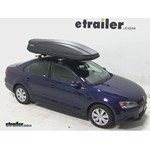 Thule Force XXL Rooftop Cargo Box Review - 2014 Volkswagen Jetta