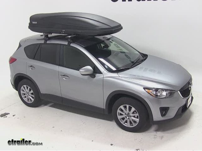Thule Force Xl >> Thule Force Xxl Rooftop Cargo Box Review 2015 Mazda Cx 5