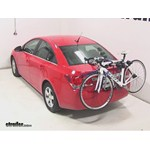 Thule Gateway Trunk Mount Bike Rack Review - 2014 Chevrolet Cruze