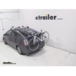 Thule Gateway Trunk Mount Bike Rack Review - 2007 Toyota Prius
