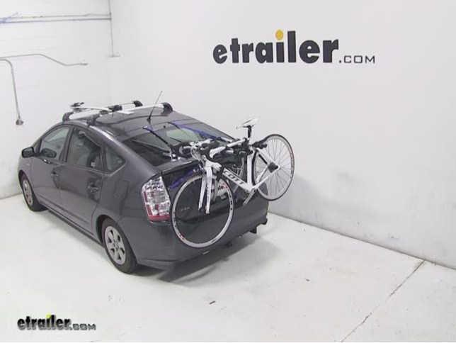 Thule Gateway Trunk Mount Bike Rack Review 2007 Toyota Prius Video Etrailer