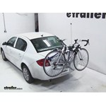 Thule Gateway Trunk Mount Bike Rack Review - 2010 Chevrolet Cobalt