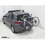 Thule Gateway Trunk Mount Bike Rack Review - 2010 Volkswagen Golf