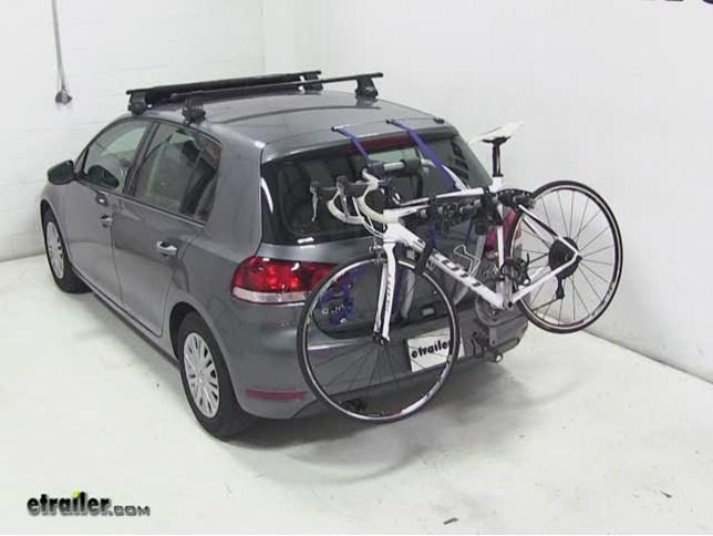 Trunk Mount Bike Rack >> Thule Gateway Trunk Mount Bike Rack Review 2010 Volkswagen Golf