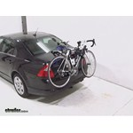 Thule Gateway Trunk Mount Bike Rack Review - 2011 Ford Fusion
