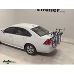 Thule Gateway Trunk Mount Bike Rack Review - 2012 Chevrolet Impala