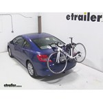Thule Gateway Trunk Mount Bike Rack Review - 2012 Honda Civic