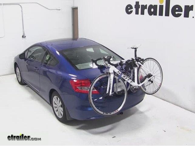 Bike rack for honda civic