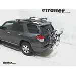 Thule Gateway Trunk Mount Bike Rack Review - 2012 Toyota 4Runner