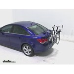 Thule Gateway Trunk Mount Bike Rack Review - 2013 Chevrolet Cruze