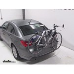 Thule Gateway Trunk Mount Bike Rack Review - 2013 Chrysler 200