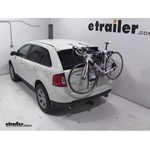 Thule Gateway Trunk Mount Bike Rack Review - 2013 Ford Edge