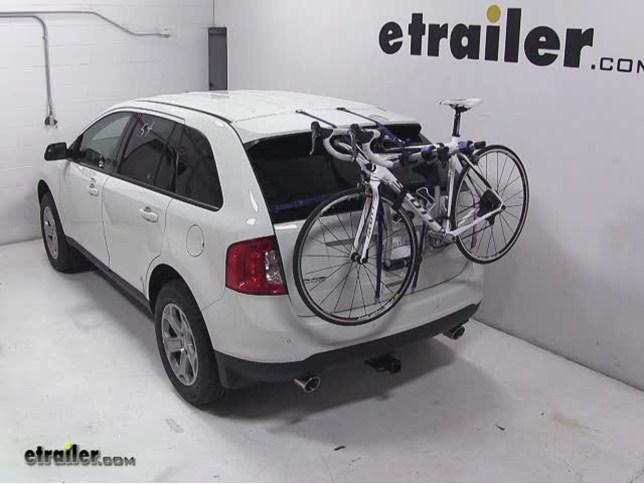 Thule Gateway Trunk Mount Bike Rack Review 2017 Ford Edge Video Etrailer