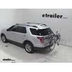 Thule Gateway Trunk Mount Bike Rack Review - 2013 Ford Explorer