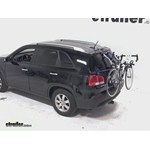 Thule Gateway Trunk Mount Bike Rack Review - 2013 Kia Sorento