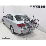 Thule Gateway Trunk Mount Bike Rack Review - 2013 Volkswagen Jetta