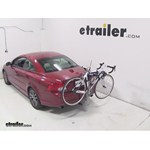 Thule Helium Aero Hitch Bike Rack Review - 2011 Volvo C70