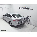 Thule Helium Aero Hitch Bike Rack Review - 2013 Ford Fusion