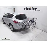 Thule Helium Aero Hitch Bike Rack Review - 2013 Nissan Murano