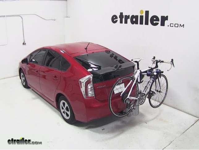 Thule Helium Aero Hitch Bike Rack Review 2017 Toyota Prius Video Etrailer