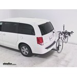 Thule Hitching Post Pro Hitch Bike Rack Review - 2013 Dodge Grand Caravan