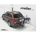 Thule Hitching Post Pro Hitch Bike Rack Review - 2013 Subaru Outback Wagon