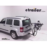 Thule Hitching Post Pro Hitch Bike Rack Review - 2012 Jeep Liberty