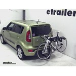 Thule Hitching Post Pro Hitch Bike Rack Review - 2012 Kia Soul