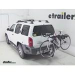 Thule Hitching Post Pro Hitch Bike Rack Review - 2012 Nissan Xterra
