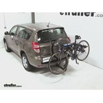 Thule Hitching Post Pro Hitch Bike Rack Review - 2012 Toyota RAV4