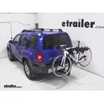 Thule Hitching Post Pro Hitch Bike Rack Review - 2013 Nissan Xterra