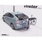 Thule Hitching Post Pro Hitch Bike Rack Review - 2013 Toyota Prius