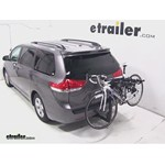 Thule Hitching Post Pro Hitch Bike Rack Review - 2013 Toyota Sienna