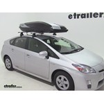 Thule Hyper XL Rooftop Cargo Box Review - 2011 Toyota Prius