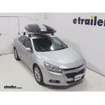 Thule Hyper XL Rooftop Cargo Box Review - 2014 Chevrolet Malibu
