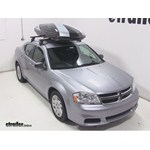 Thule Hyper XL Rooftop Cargo Box Review - 2014 Dodge Avenger