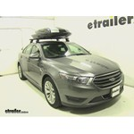 Thule Hyper XL Rooftop Cargo Box Review - 2014 Ford Taurus