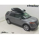Thule Hyper XL Rooftop Cargo Box Review - 2014 Ford Explorer