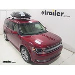 Thule Hyper XL Rooftop Cargo Box Review - 2014 Ford Flex