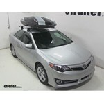 Thule Hyper XL Rooftop Cargo Box Review - 2014 Toyota Camry