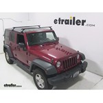 Video install thule loadbar 2011 jeep wrangler thlb58