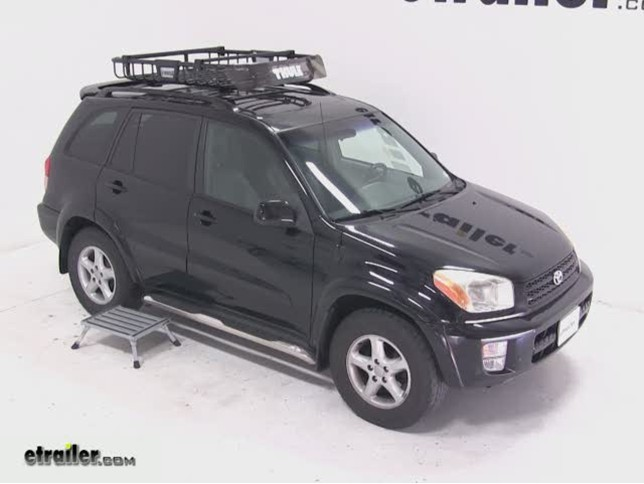 Thule Moab Roof Top Cargo Basket Review 2003 Toyota Rav4 Etrailer Com