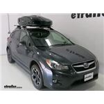 Thule Roof Box Review - 2014 Subaru XV Crosstrek
