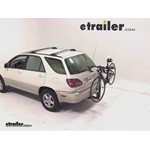 Thule Parkway 2 Hitch Bike Rack Review - 2000 Lexus RX 300
