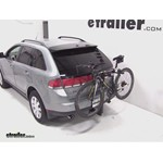 Thule Parkway 2 Hitch Bike Rack Review - 2007 Lincoln MKX