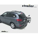 Thule Parkway 2 Hitch Bike Rack Review - 2008 Hyundai Santa Fe