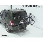 Thule Parkway 2 Hitch Bike Rack Review - 2008 Jeep Liberty
