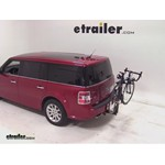 Thule Parkway 2 Hitch Bike Rack Review - 2009 Ford Flex