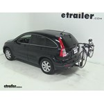 Thule Parkway 2 Hitch Bike Rack Review - 2009 Honda CR-V